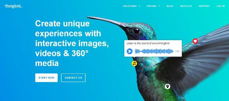 Thinglink - Best Content Creation Tools