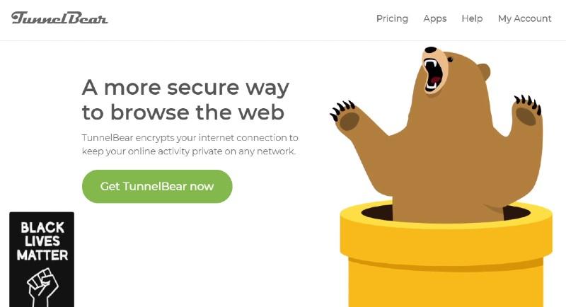 TunnelBear - Best VPN Service Providers