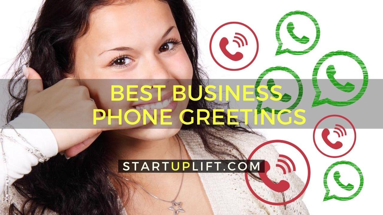 Best Business Phone Greetings