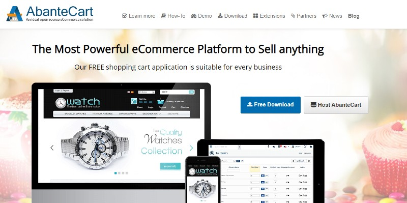 AbanteCart - The Best Shopping Cart Software Systems for Your Business