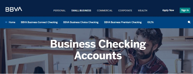 BBVA USA - Best Business Checking Accounts for Entrepreneurs