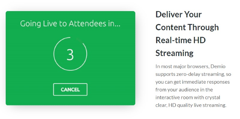 HD Streaming - Demio Review: Webinar Software for Marketers