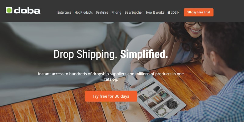 Doba - Best Dropshipping Companies for your eCommerce Business