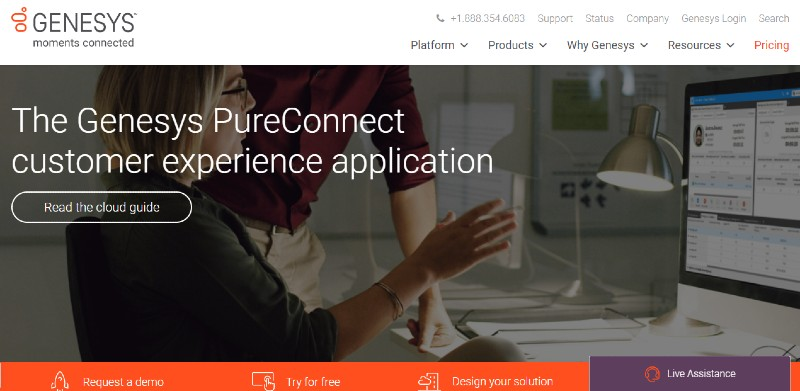 Genesys PureConnect - Best Auto Dialer Software