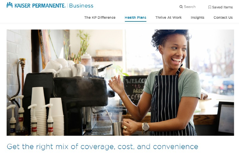 Kaiser Permanente - Best Small Business Health Insurance