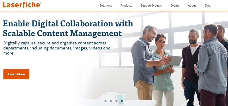 Laserfiche - Best Business Process Management Software
