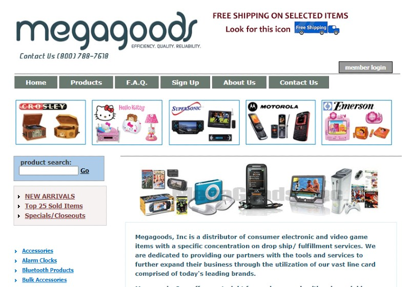 Megagoods - Best Dropshipping Companies for your eCommerce Business