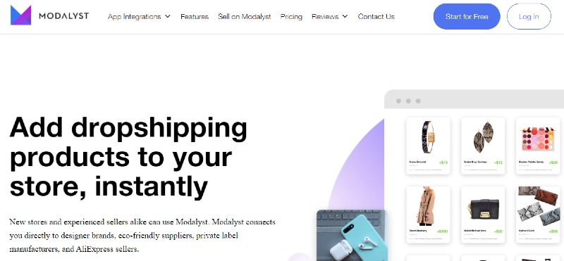 Modalyst - Best Dropshipping Companies for your eCommerce Business