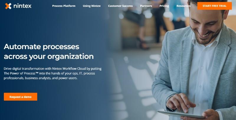 nintex - Best Business Process Management Software