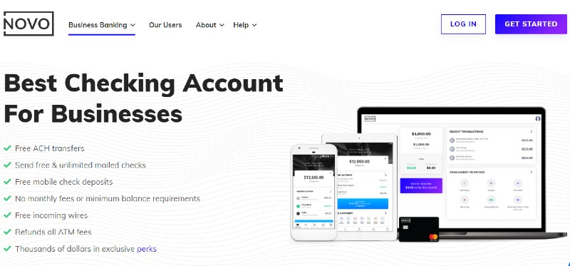 Bank Novo - Best Business Checking Accounts for Entrepreneurs