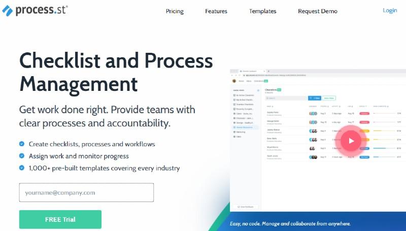 Process Street - Best Business Process Management Software