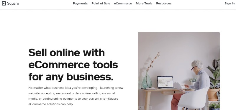 Square for e-Commerce - Best Ways For A Small Business To Accept Credit Cards