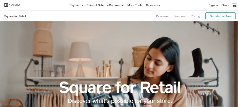 Square for Retail - Best Ways For A Small Business To Accept Credit Cards
