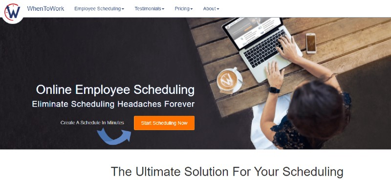 Whentowork - Best Employee Scheduling Software