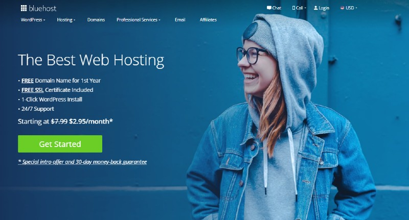 Bluehost - Best Web Hosting for Small Businesses