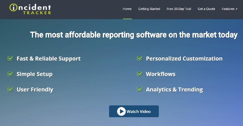 Incident Tracker - Best Incident Management Software