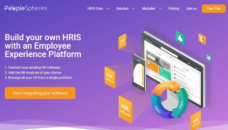 PeopleSpheres - Best Human Resources Software for Startups
