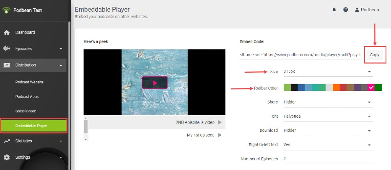 Video player - How to Build a Thriving Audience Community with PodBean