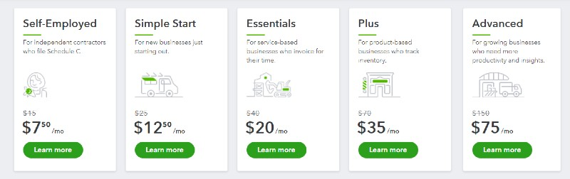 Tailored features - QuickBooks Best Version for Business - Online vs Desktop