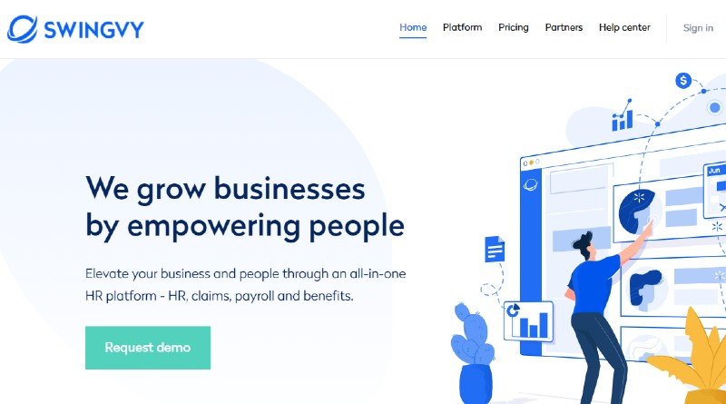 Swingvy - Best Human Resources Software for Startups