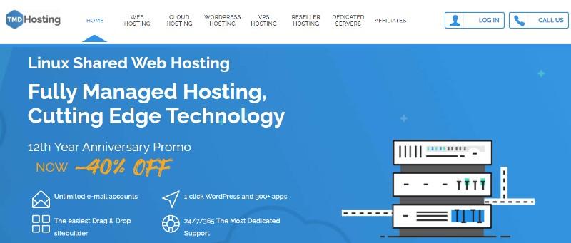 TMD Hosting - Best Web Hosting for Small Businesses