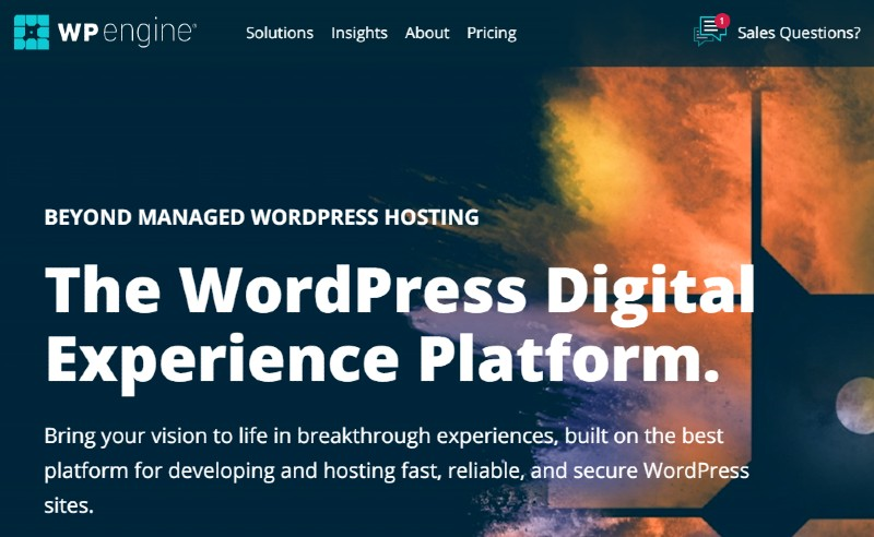 WP Engine - Best Web Hosting for Small Businesses