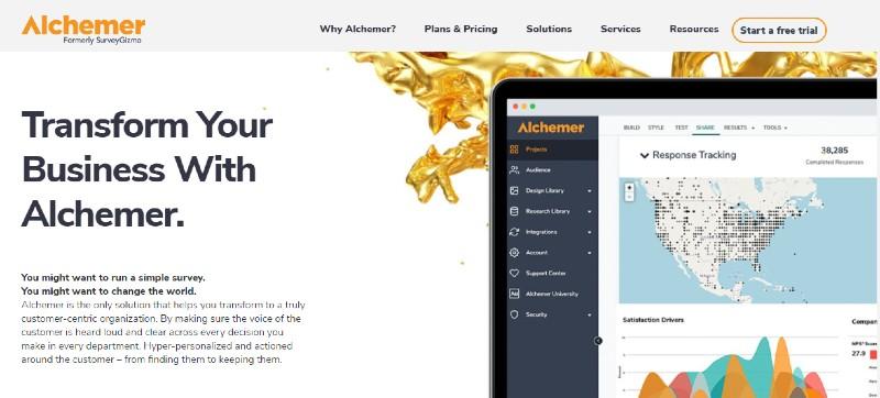 SurveyGizmo - Best 360 Degree Feedback Software