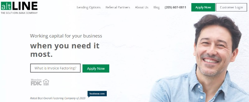 altLINE - Best Invoice Factoring Companies