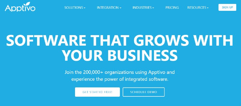Apptivo - Best Lead Management Software
