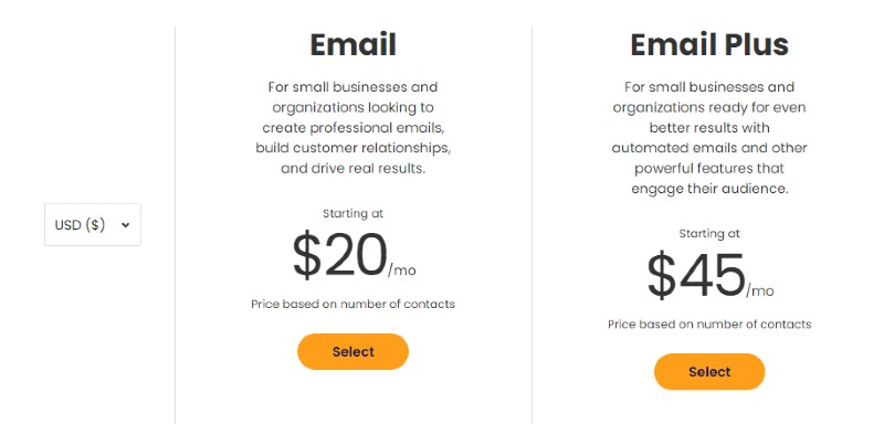 Pricing - Constant Contact Review: Email Marketing Services for Your Business