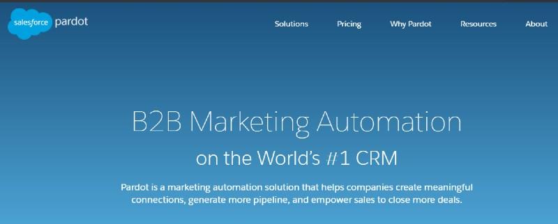 Salesforce Pardot - Best Lead Management Software