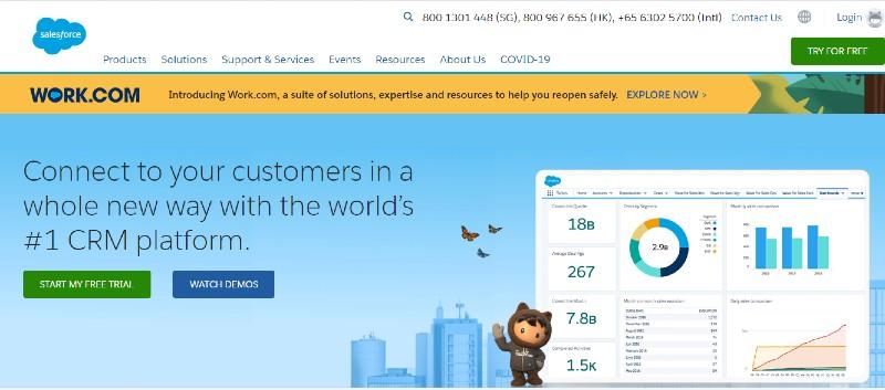 Salesforce - Best Lead Management Software
