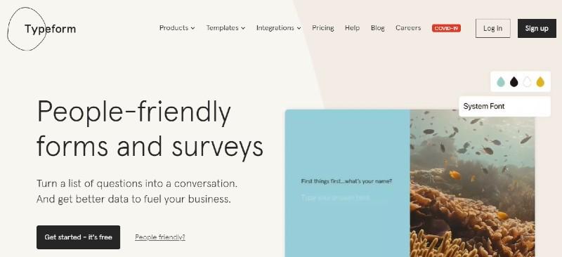 Typeform - Best 360 Degree Feedback Software