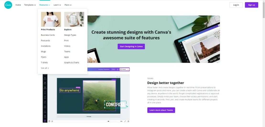 Canva Features
