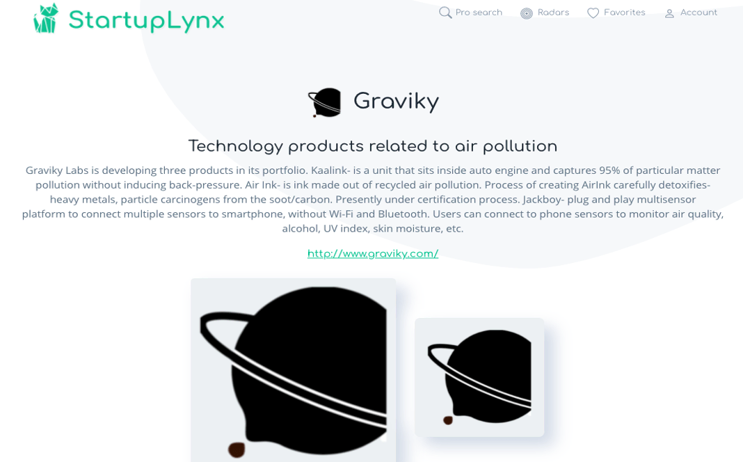 Graviky is an extremely creative start-up that does something very remarkable with polluted air, turning it into ink.