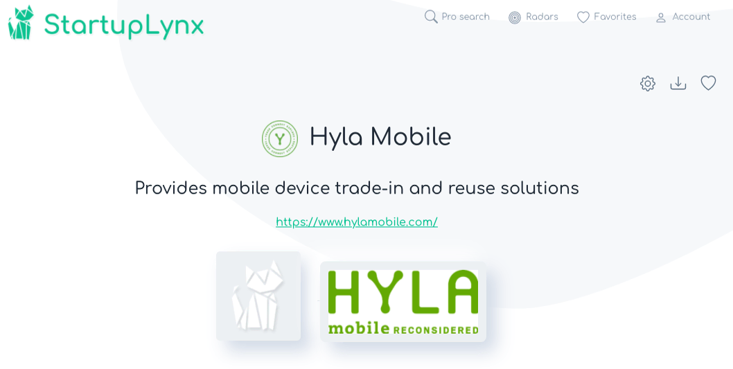Hyla Mobile provides mobile device trade-in and reuse solutions