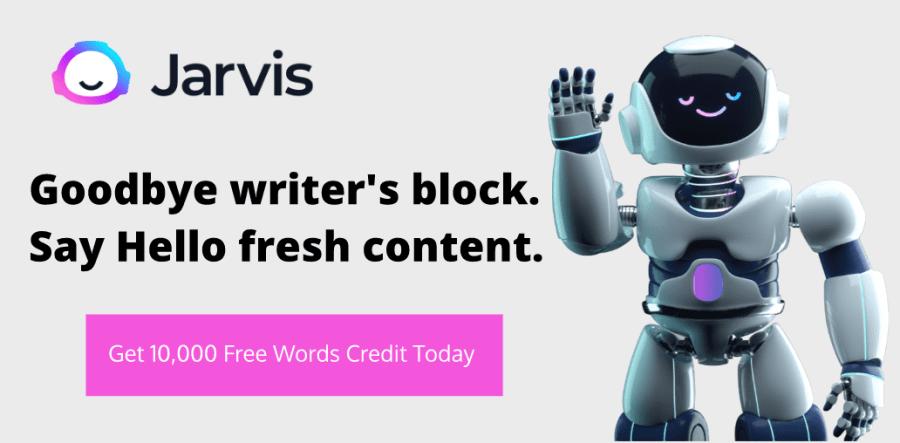 jarvis 10,000 words credit