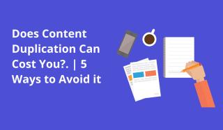 prevent content duplication