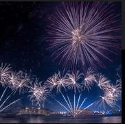 Sensational fireworks spectacle lights up Yas Island in celebration of Eid al-Fitr
