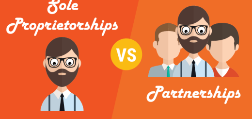 Sole Proprietorship vs Partnerships