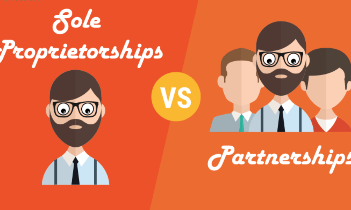 Difference Between Sole Proprietorship And Partnership Startup Sutra