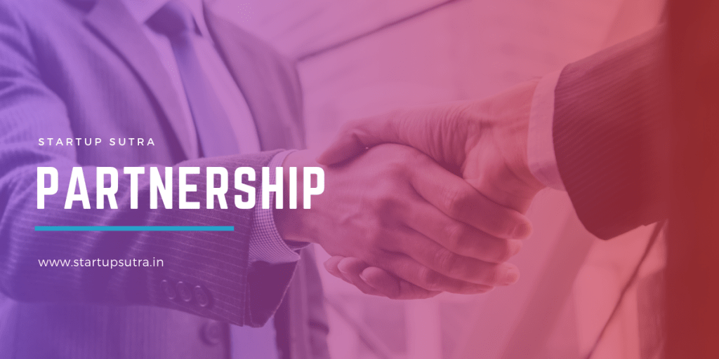 Partnership   Different Types of Company Registrations in india   Startup Sutra