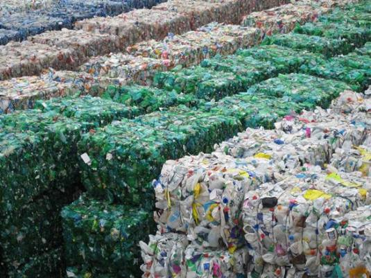 A Plastic Recycling Collection Business's Dump Site