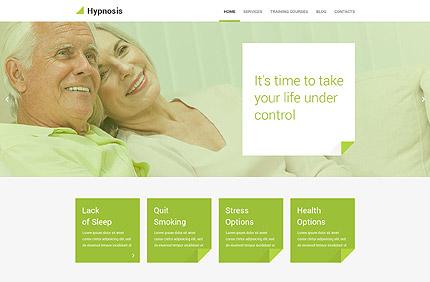 Hypnotherapy WordPress Template