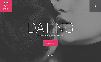 Dating WordPress Template