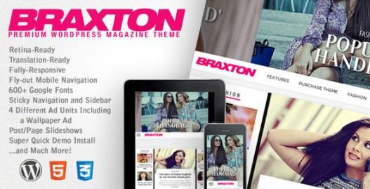 Braxton - Responsive WordPress Magazine Theme:
