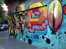 Hardware store graffiti