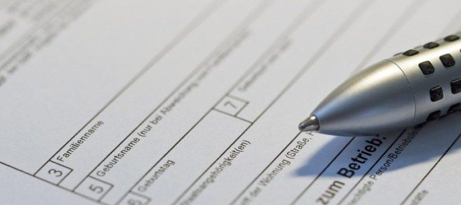 Formular Anmeldung (Bild: Pixabay)