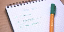 Wichtige Ratschläge fürs strukturierte Arbeiten