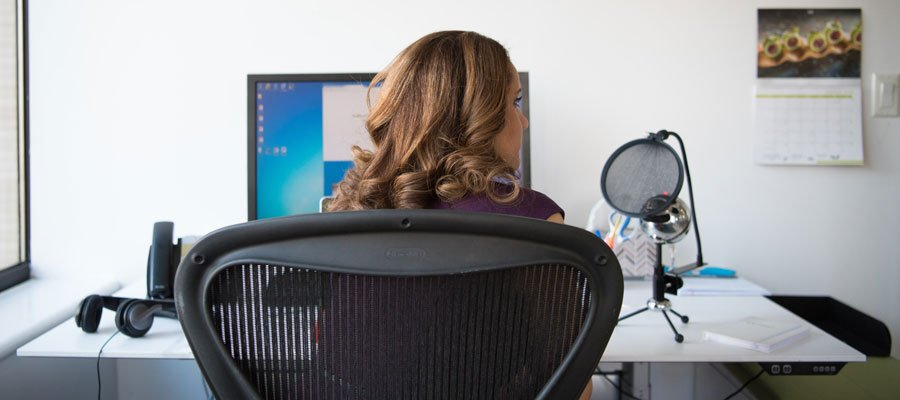 Bürostuhl (Bild: Pexels)